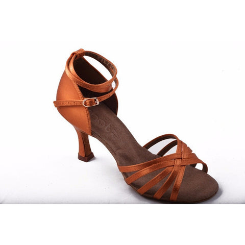211 Dark Tan Satin