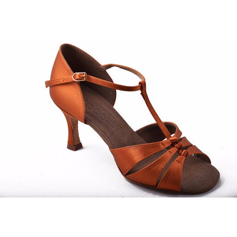 2303 Dark Tan Satin