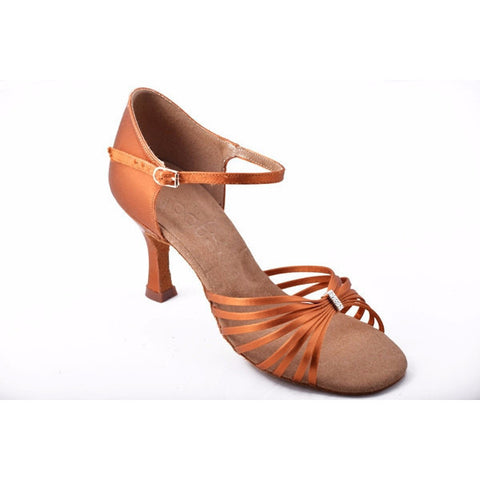2308 Dark Tan Satin