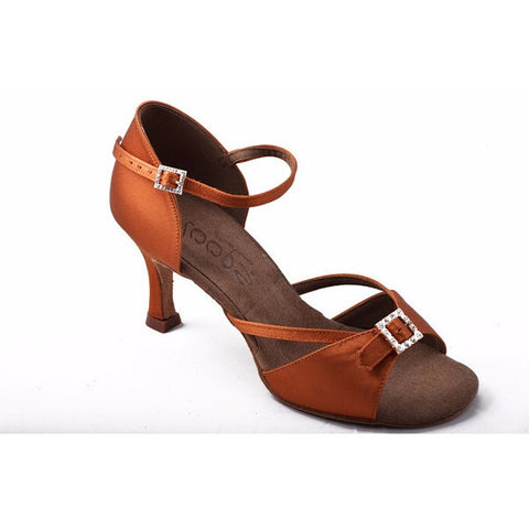242 Dark Tan Satin