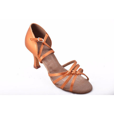 286 Dark Tan Satin