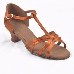 604 Dark Tan Satin