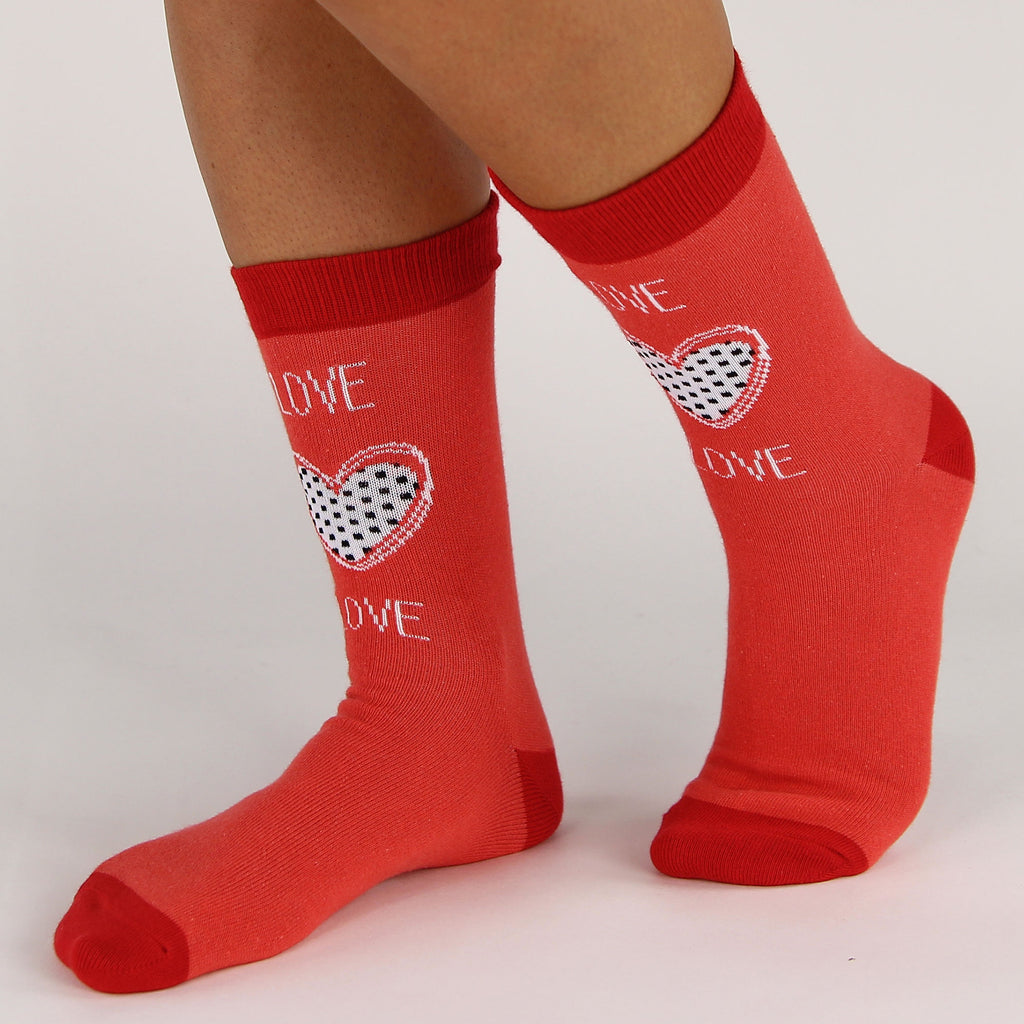 valentines day socks i heart you - Valentines Socks
