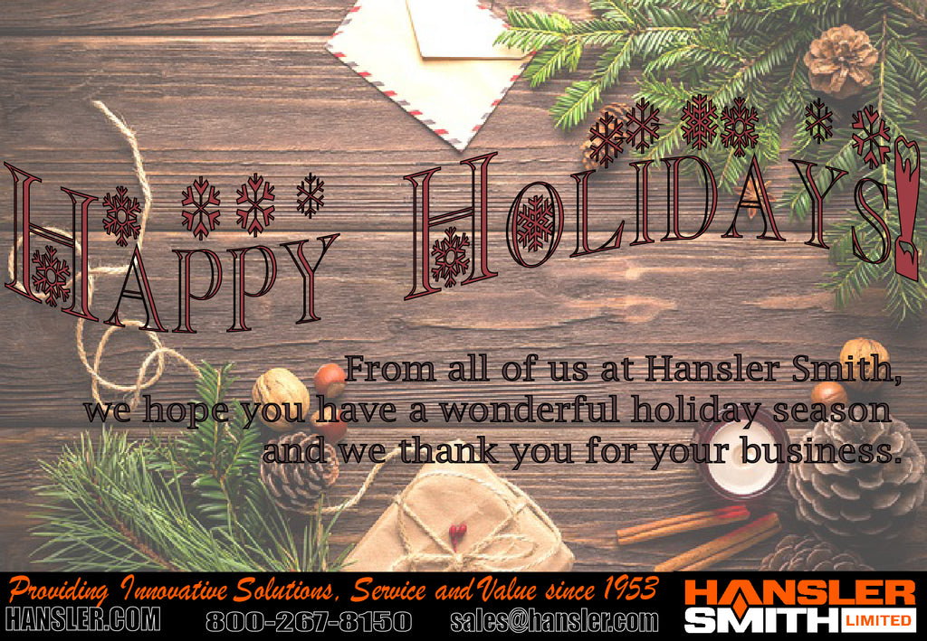 Holiday Greetings from the Hansler Smith Team!