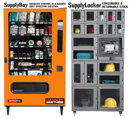 Hansler Smith Inventory Management System Options - Supply Bay and Supply Locker