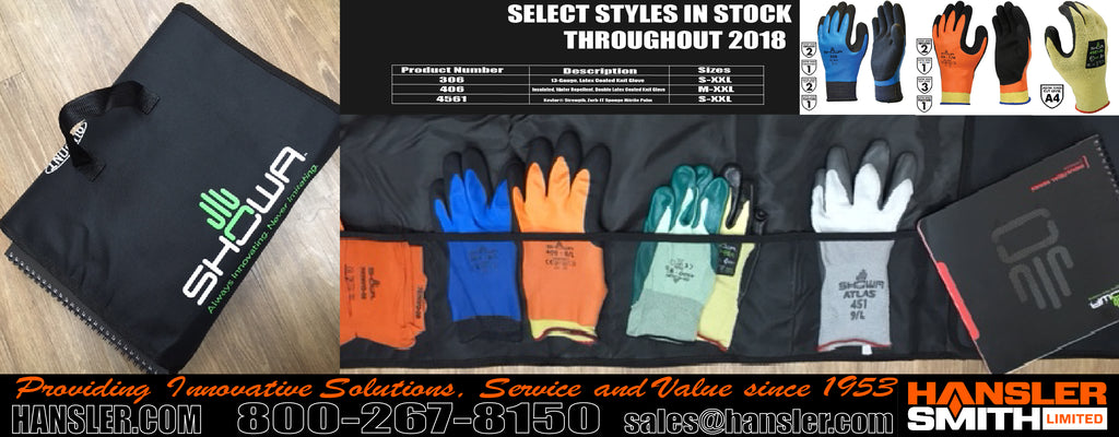 Introducing our New SHOWA Glove Samples