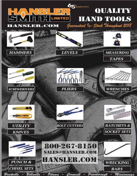 Discover Hansler Smith's Guaranteed IN-STOCK Hand Tools - Hansler.com