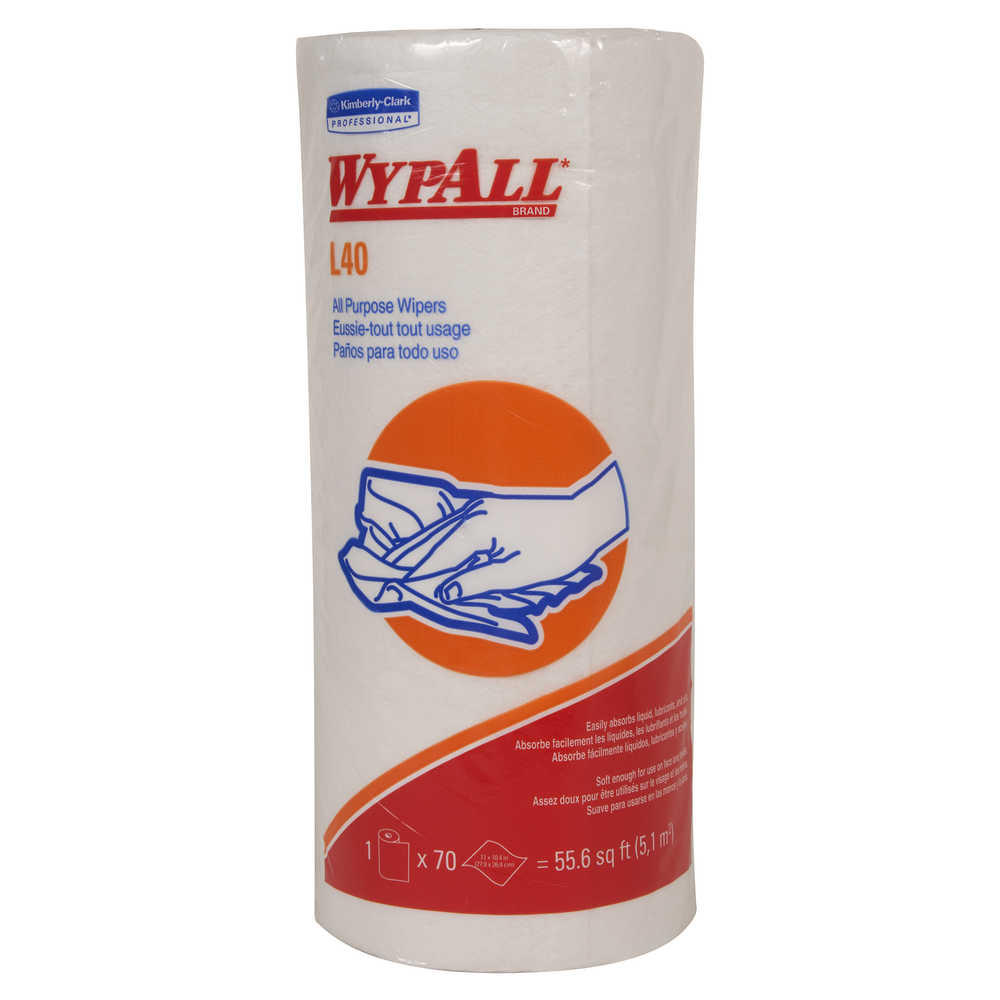 *Wipers - Kimberly-Clark Professional WypAll L40 - Hansler.com