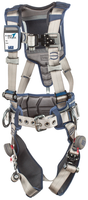 FALL ARREST HARNESS ExoFit STRATA™ Construction Style Positioning Harness 3M DBI SALA - Hansler.com