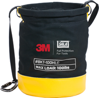 FALL ARREST TOOLS Safe Bucket 100 lb. Load Rated Hook and Loop Canvas 3M DBI SALA - Hansler.com
