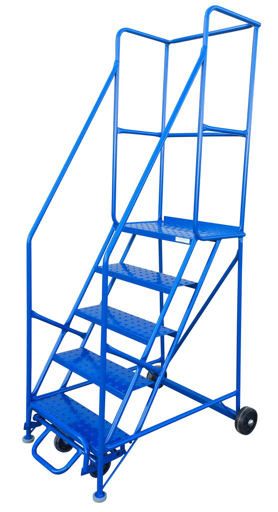 Ladder - Canway Mobile Ladder Stand 5 Step - Hansler.com