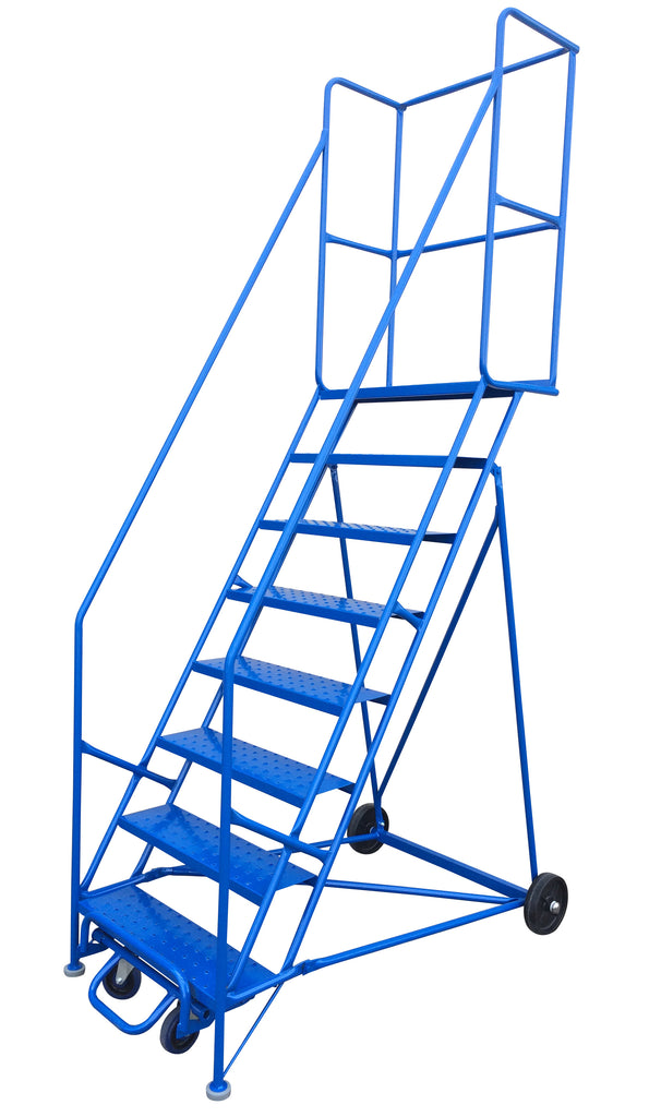 Ladder - Canway Mobile Ladder Stand 8 Step - Hansler.com