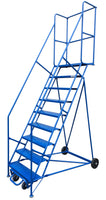 LADDER Mobile Ladder Stand 9H CANWAY - Hansler.com