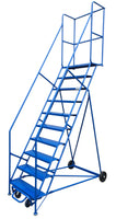 LADDER Mobile Ladder Stand 10H CANWAY - Hansler.com