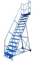 LADDER Mobile Ladder Stand 14H CANWAY - Hansler.com
