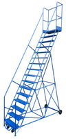 LADDER Mobile Ladder Stand 16H CANWAY - Hansler.com