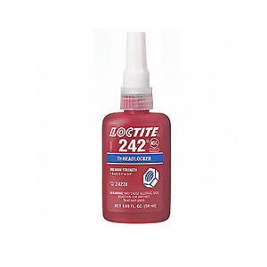 Adhesive Bonder - Loctite 242 Blue Threadlocking* - Hansler.com