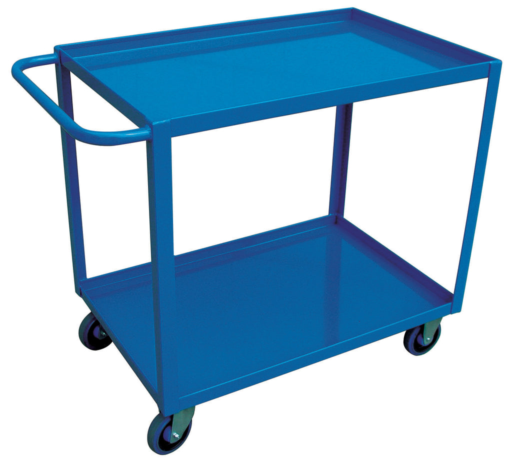 "Utility Cart - Canway Service Cart Two Shelf 24"" x 36"" - Hansler.com"