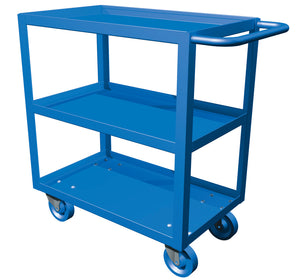 CART UTILITY Service Cart Three Shelf 18X36 CANWAY - Hansler.com