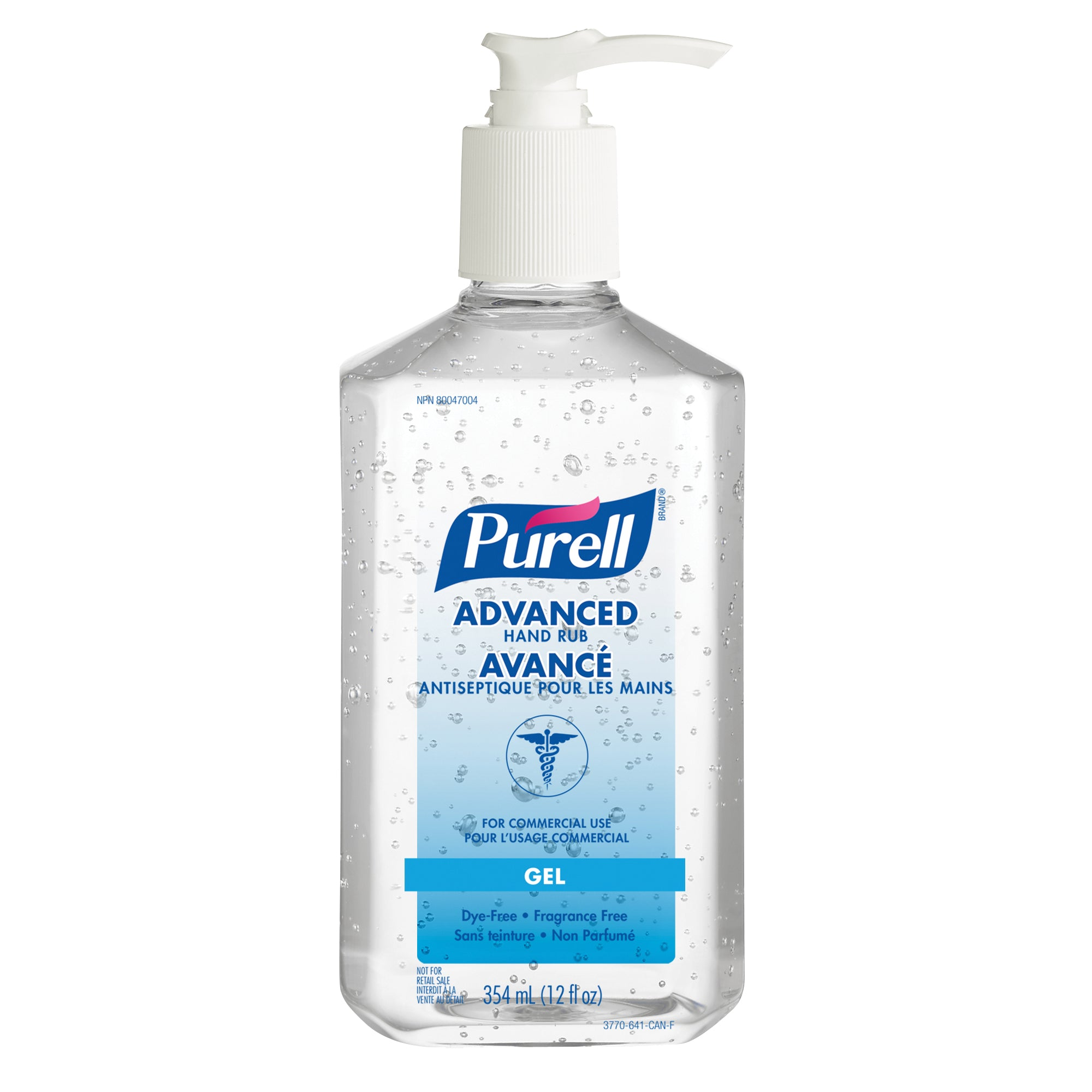 Hand Sanitizer Purell Advanced Hand Rub 354 Ml Hansler Smith
