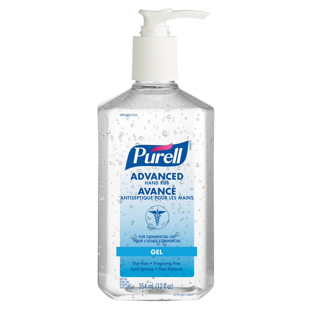 Hand Sanitizer - PURELL® Advanced Hand Rub, 354 ml 3770-12-CAN00 - Hansler.com