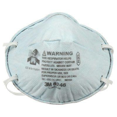 Particulate Respirator Face Mask - 3M Particulate Disposable 8246, R95 - Hansler.com