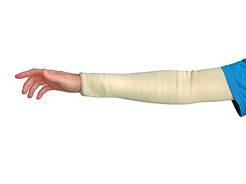 Protective Sleeve - Cut Resistant - Superior Glove Contender 13 in Tubular with Thumbhole, Level 4 KFG13TH - Hansler.com