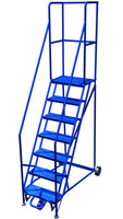 LADDER Narrow Aisle Mobile Ladder Stand 7H CANWAY - Hansler.com