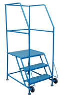 LADDER Tilt and Roll Mobile Ladder Stand 3H CANWAY - Hansler.com