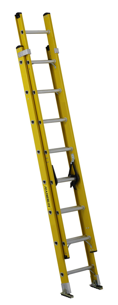 Ladder - Featherlite Series 6900E Extra-Heavy Duty Fiberglass Extension, Meets or Exceeds CSA Grade 1A, ANSI Type IA - Hansler.com