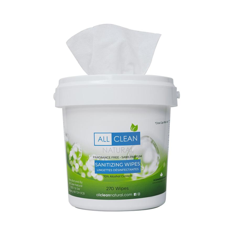 all clean natural disinfecting wipes