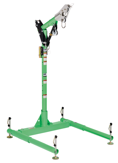 Fall Arrest Hoist System - 3M DBI-SALA Confined Space Advanced™ 5-Piece Davit Hoist System 8300009 - Hansler.com