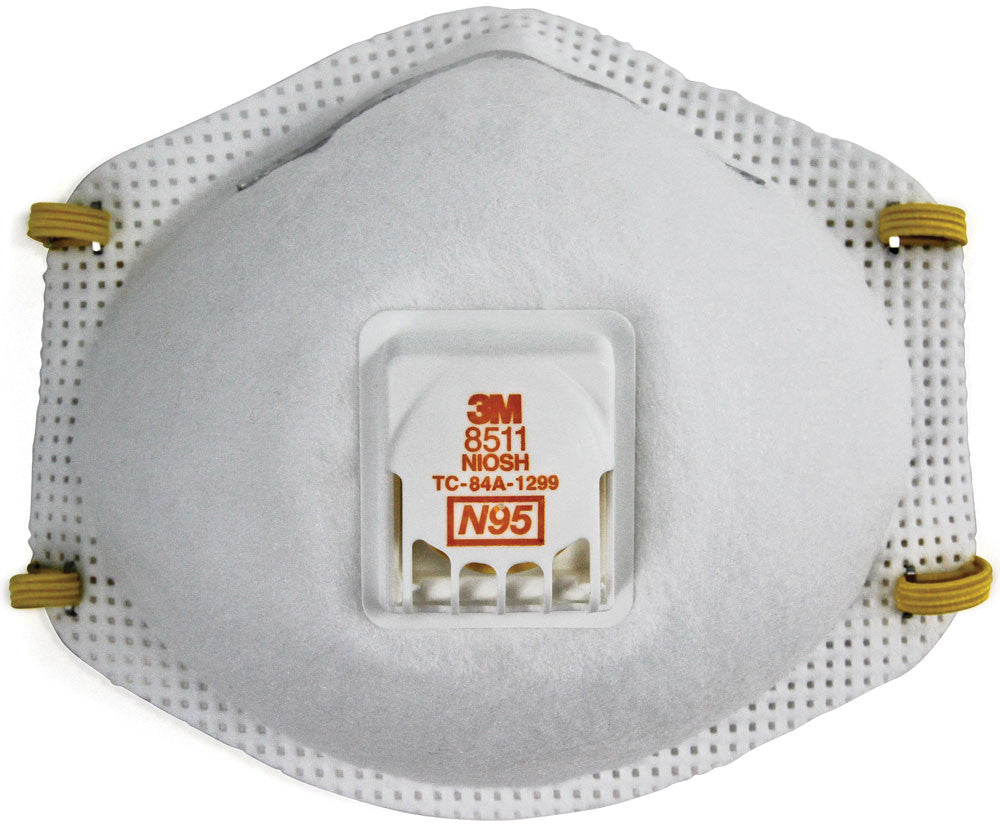 Particulate Respirator / Face Mask - 3M N95 (Box of 10) 8511 - Hansler.com