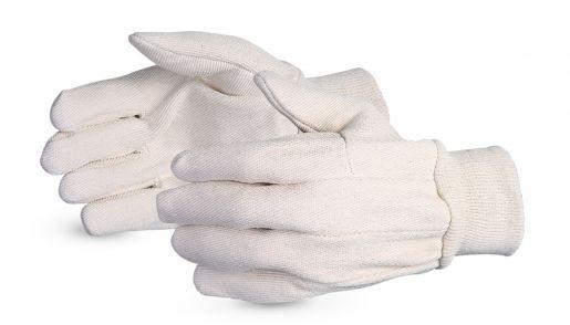 Glove - General Purpose - Superior Glove Lightweight Cotton Wing Thumb Style 8QK - Hansler.com