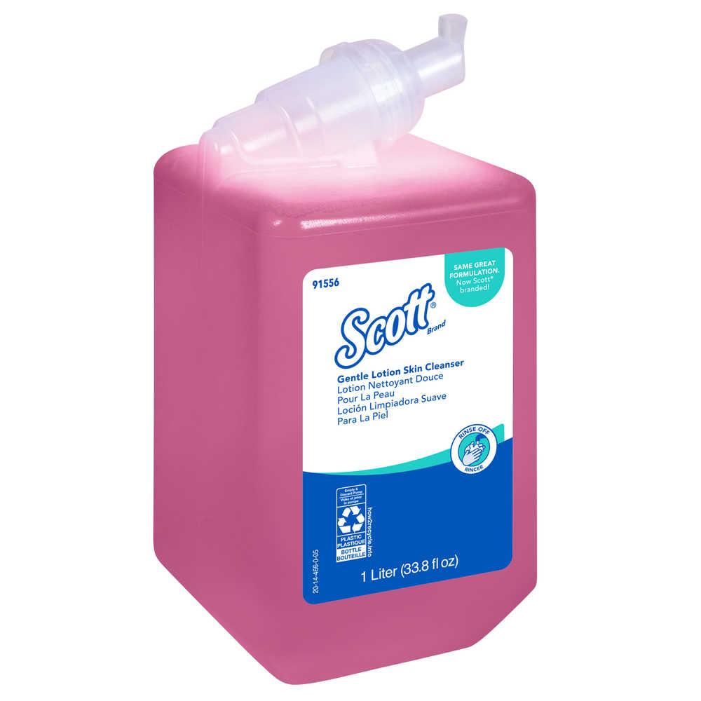 Soap - Scott® Pro Gentle Lotion Skin Cleanser 1 L 91556 - Hansler.com