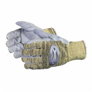 Glove - Cut Resistant - Superior Glove Action Composite Kevlar/Molded Rubber/Wire-Core Stainless Steel Mesh Lining SKSMLP - Hansler.com