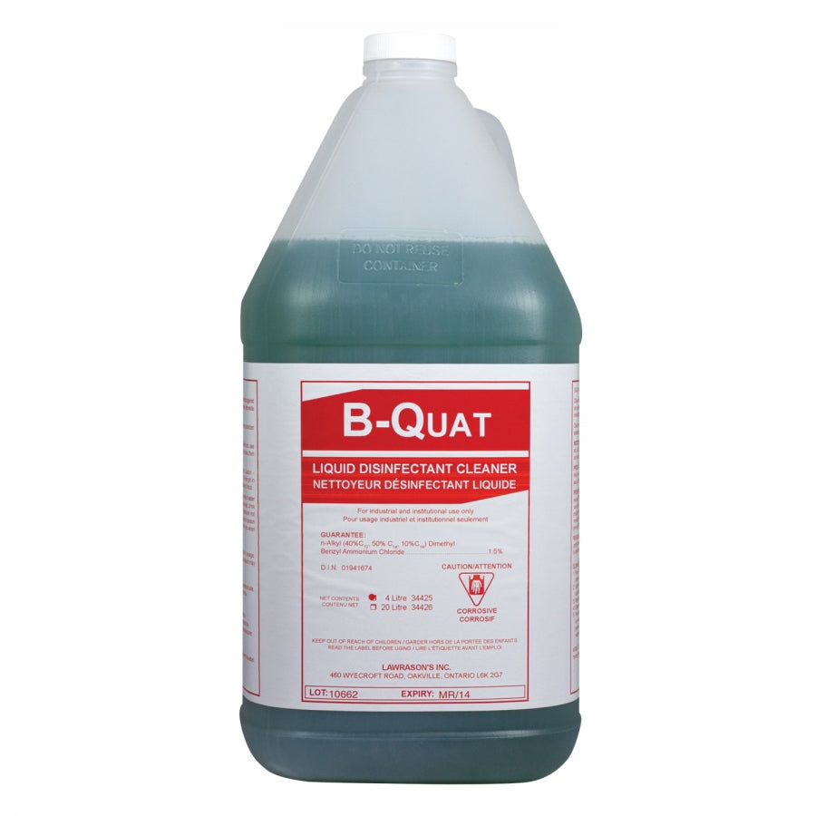 General Purpose Cleaner - Lawrason's B-Quat Deodorizer Disinfectant* - Hansler.com