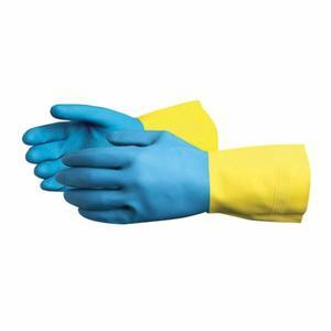 Glove - Chemical Resistant - Superior Glove Chemstop Heavyweight Latex Rubber/Neoprene Flock Lining 30 mil Thickness NL3030 - Hansler.com