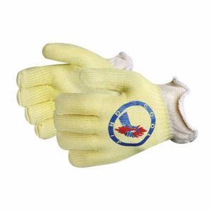 Glove - Specialty - Heat Resistant - Superior Glove Cool Grip Kevlar/Leather Aluminized Heatstop/Leather Lining 608 deg F Maximum CGKHS13 - Hansler.com