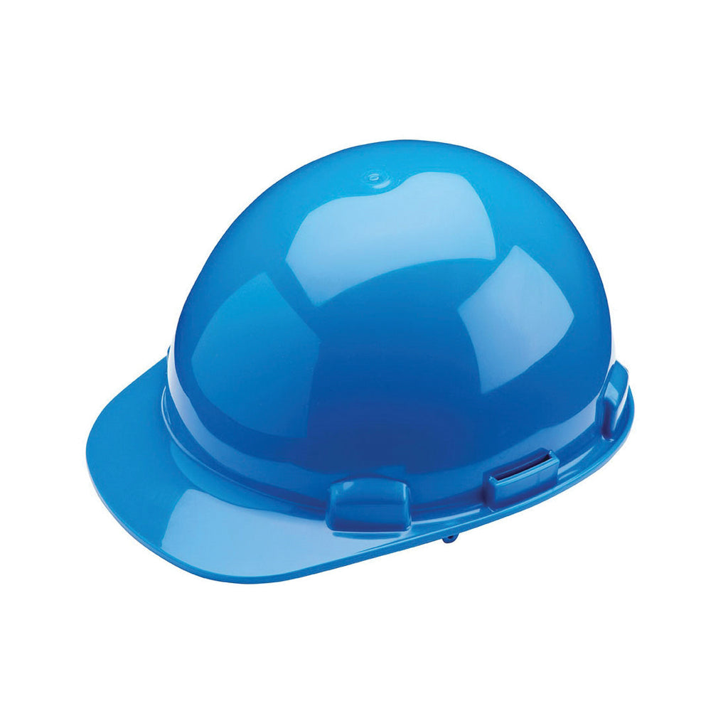 Hard Hat - Dynamic Dom™ Cap Style with HDPE Shell, 4-Point Nylon Suspension and Pin Lock Adjustment - Type 1 Class E HP341 - Hansler.com