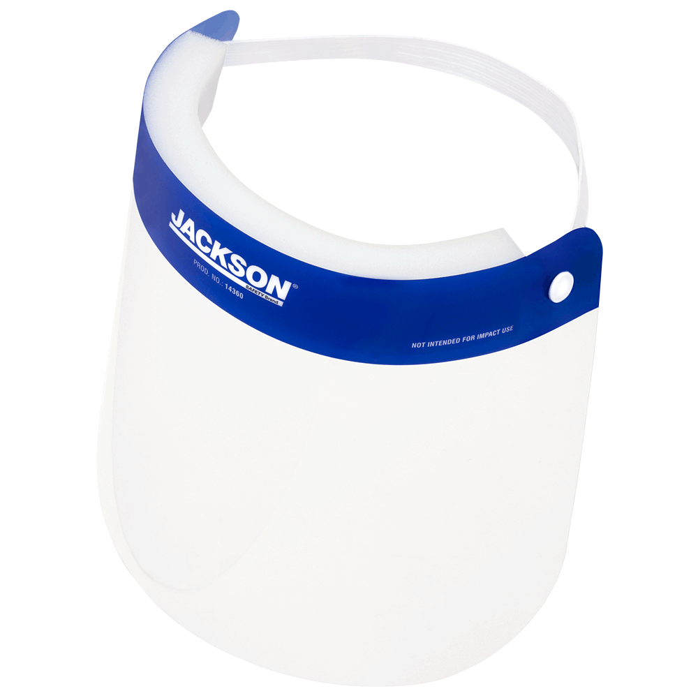 Face Shield - Jackson Disposable Splash Protection 14360 - Hansler.com