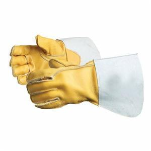 Glove - Welding - Superior Glove Endura Deluxe Rigger Cowhide Grain Leather/Kevlar Sewn 365GC - Hansler.com