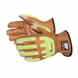 Glove - Cut Resistant - Superior Glove Endura With Olibloc, Cowhide Leather  Blended Kevlar/Composite Filament Fiber Lining 378CKGVB - Hansler.com