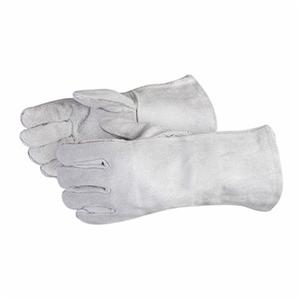 Glove - Welding - Superior Glove Endura MIG Mitt Split Cowhide Leather Wing Thumb/Thermal Knit Style 505i - Hansler.com