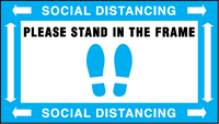Floor Decal - Ketchum Social Distancing 32