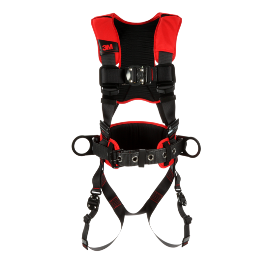 Fall Arrest Harness - 3M™ Protecta® Comfort Construction-Style Positioning Harness - Hansler.com