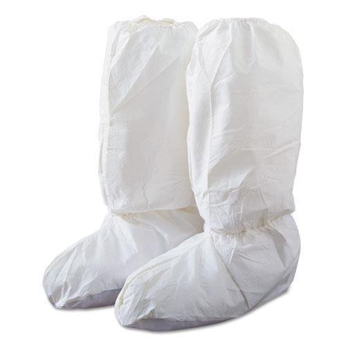 "Boot Cover - DuPont Tyvek IsoClean White 15"" High (Box of 100) IC444S - Hansler.com"
