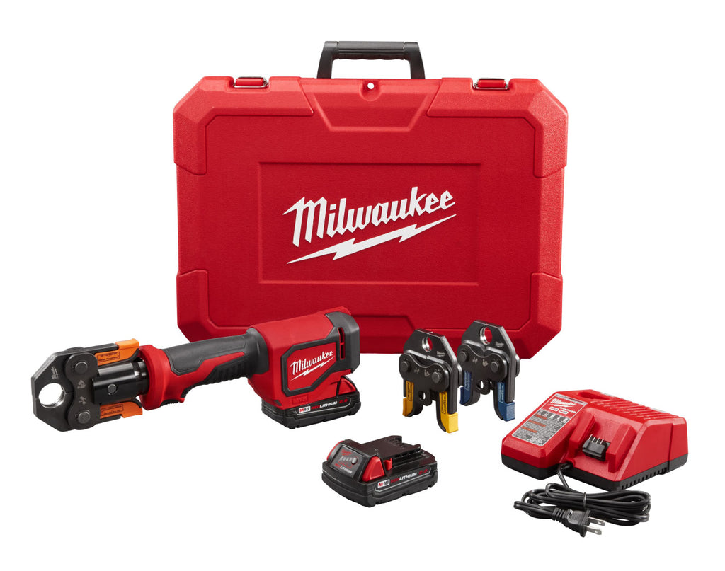 Press Tool Kit - Milwaukee M18™ Short Throw w/ Viega PureFlow™ Jaws 2674-22P - Hansler.com