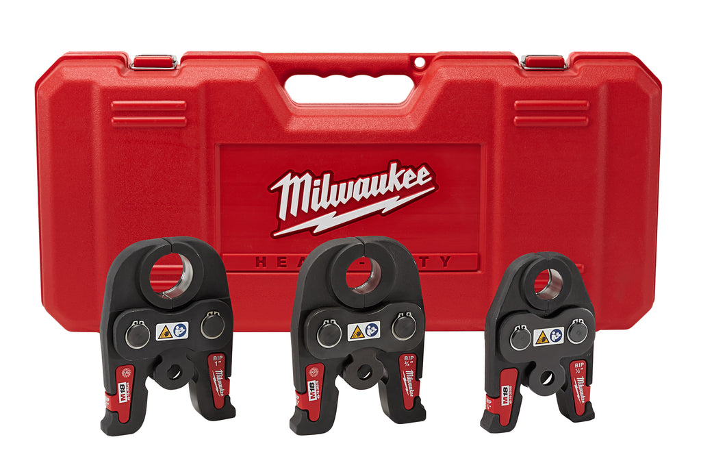 "Press Tool Kit - Milwaukee Black Iron 1/2"" - 1"" 49-16-2696 - Hansler.com"