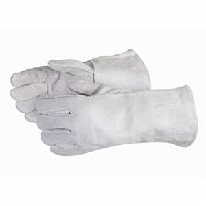 Glove - Welding - Superior Glove Iron Wolf Economy Grade Side Split Cowhide Leather Cotton Lining 505Q - Hansler.com
